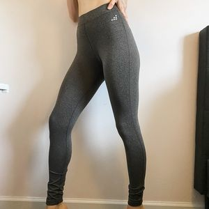 Bcg Grey High Rise Fitness Workout Leggings | S